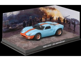 James Bond Collection - 1/43 scale - Ford GT40 - Die another day