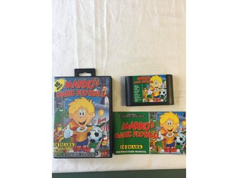 Tevespel - Megadrive - Markos Magic Football