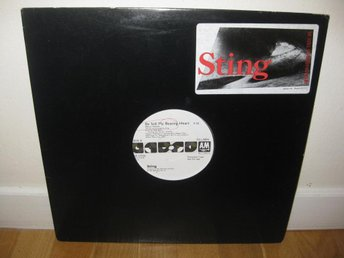 "STING - Be still my beating heart 12"" maxi 1987 / Promo"