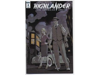 Highlander: The American Dream # 4 NM Ny Import