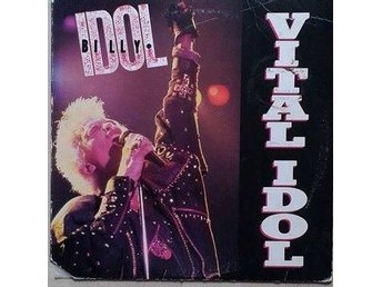 Billy Idol title* Vital Idol* Pop Rock, Synth-pop LP. Comp. US
