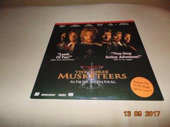 The three musketeers THX- Widescreen laserdisc - 1st Laserdisc - Säffle - The three musketeers THX- Widescreen laserdisc - 1st Laserdisc - Säffle