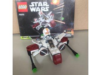 LEGO STAR WARS 75072 ARC-170 Starfighter Micro - Djursholm - LEGO STAR WARS 75072 ARC-170 Starfighter Micro - Djursholm