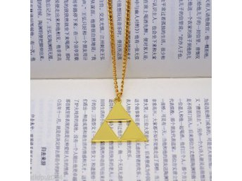 Legend of zelda skyward sword triforce Necklace halsband