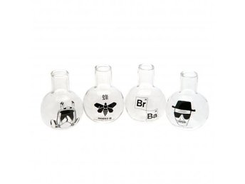 Breaking Bad Shotsglas 4-Pack