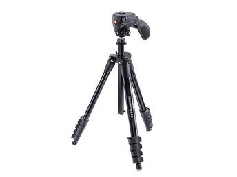 MANFROTTO Stativkit Compact MKCOMPACTACN-BK Action Svart