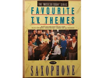 FAVOURITE T.V. THEMES FOR SAXOPHONE 1986 36 SIDOR saxofon noter