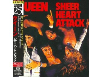 QUEEN 'Sheer Heart Attack' Japan paper-sleeve CD w/OBI