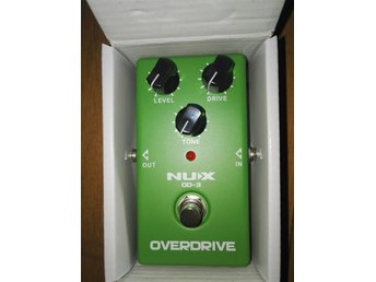 Nux Overdrive pedal