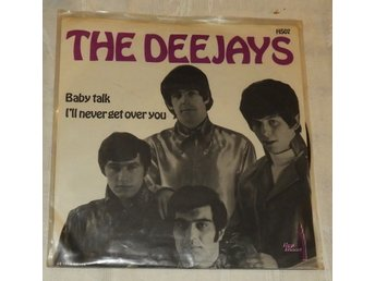 "Vinyl - 7"" - The Deejays ‎– Baby Talk/I'll never get over you - HS07"