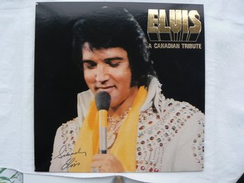 LP : Elvis Presley - A Canadian Tribute  The Gold Album  1978  Ny Ospelad