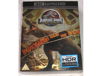 Jurassic Park Trilogin BOX (4K ULTRA HD + Blu-ray) --NY--