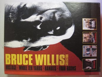 Bruce Willis Collection 4:st DVD filmer i en Box