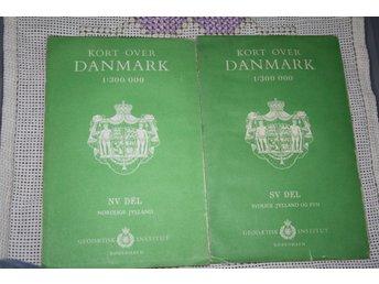 Karta Skane Och Danmark.Parti Med 78 Kartor Fran Nordvastra Skane 345592917 ᐈ Kop Pa Tradera