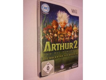 Wii: Arthus and the Minimoys 2 And the Revenge of Maltazard
