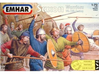 Emhar SAXON WARRIORS  1/72