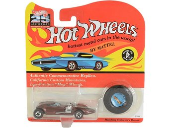 Twin Mill Brown Hot Wheels #5709 25th Anniversary Collector's Edition