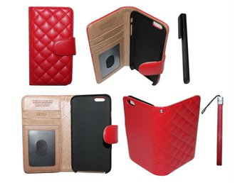 Rod iphone 6/6s plånboks födral(magnetlåset) - Halmstad - Rod iphone 6/6s plånboks födral(magnetlåset) - Halmstad