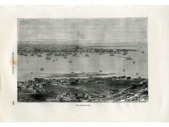 Tryck - Motiv Montevideo - Uruguay - Från 1877 - Tullinge - Tryck - Motiv Montevideo - Uruguay - Från 1877 - Tullinge