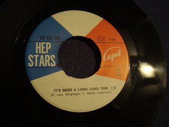 Hep Stars Singel Från 1968 Med Lasse Berghagen Låt It´s Been A Long Long Time