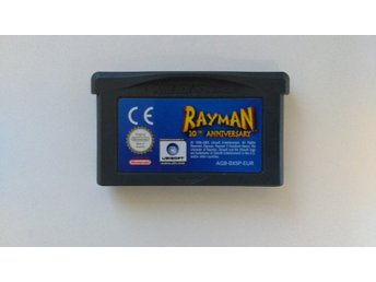 GBA / Gameboy Advance: Rayman 10th Anniversary (endast kassett)