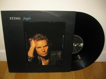 "STING - Fragile 12"" maxi 1988 / The Police"