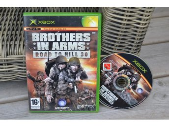 Brothers in Arms: Road To Hill 30 XBOX Fint Skick