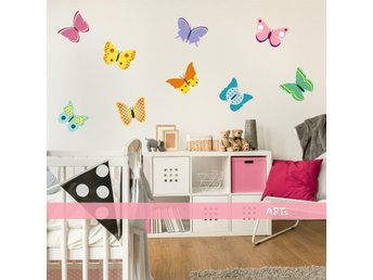 Wall sticker - Butterflies (3579f)