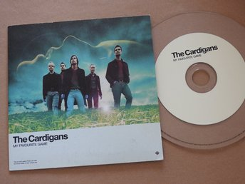 The Cardigans - My Favourite Game CD Single (transparenta)