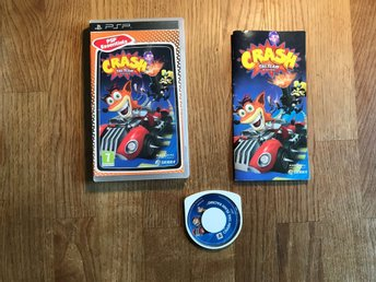 CRASH TAG TEAM RACING  PSP PLAYSTATION PORTABLE OK SKICK