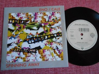 "7"" Brian Eno / John Cale - Spinning Away / Grandfather's House PS WG"