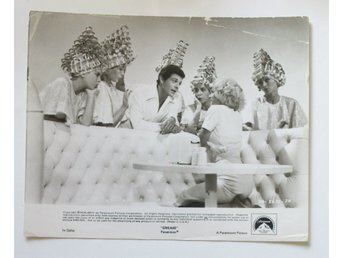 Lobbykort Grease 1980 Beautyschool drop-out KULT klassiker
