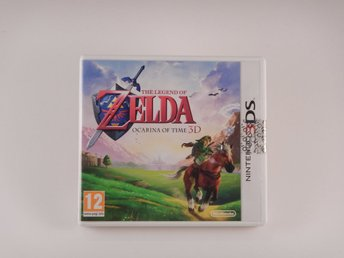 Nintendo 3DS  --  The Legend Of Zelda Ocarina Of Time  --  PAL