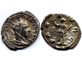 WAR ROM -  251-253, Volusianus - Antoninian med Pax