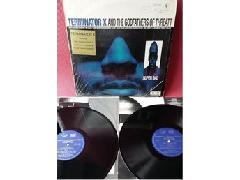 TERMINATOR X & THE GODFATHERS OF THREATT - SUPER BAD 2-LP EX