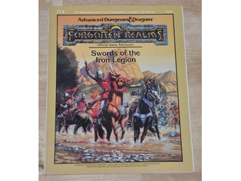 AD&D TSR 9226 I14 Swords of Legion