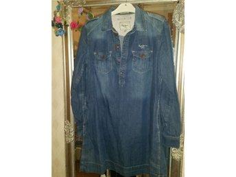 pepe jeans denim klänning st L/XL - Brämhult - pepe jeans denim klänning st L/XL - Brämhult