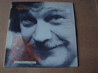 Signerad lp Med Big Joe´s Jazz Joe Muranyi Från 1980 Mud & Puppy