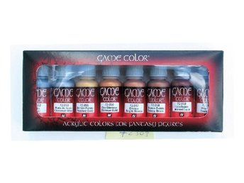 Vallejo 72303 metallic colors 8 x 17 ml.