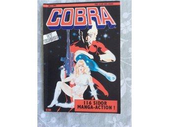 Cobra förstanummer 1991 mint skick oläst ovanlig - Lidköping - Cobra förstanummer 1991 mint skick oläst ovanlig - Lidköping