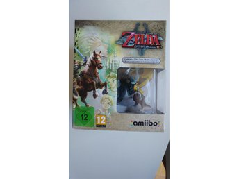 The Legend of Zelda: Twilight Princess HD + Amiibo - Nintendo Wii U *NYTT*