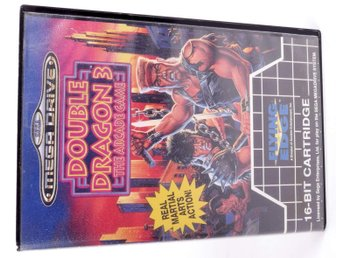 Double Dragon 3 The Arcade Game - Sega Mega Drive / Genesis - PAL (EU)