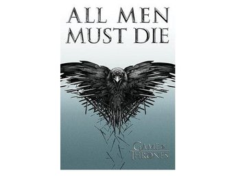 Game Of Thrones Affisch All Men Must Die A248