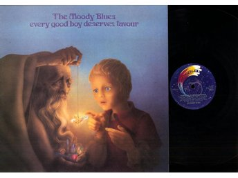 THE MOODY BLUES - EVERY GOOD BOY DESERVES FAVOUR - GF