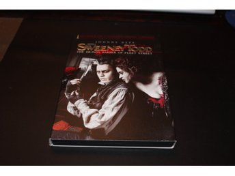 DVD-film: Sweeney Todd (Johnny Depp)