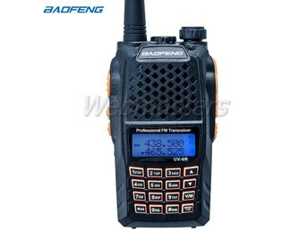 2st Baofeng UV-6R Jaktradio Komradio Radio Amatörradio Walkie Talkie