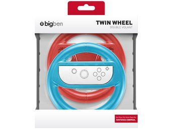 Switch Dual wheel red & blue