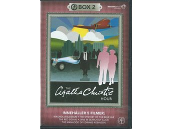 AGATHA CHRISTIE HOUR 2 -5 FILMER- 2 DVD BOX ( SVENSKT TEXT)