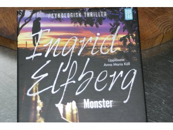 LJUDBOK  --  MONSTER  --  INGRID ELFBERG