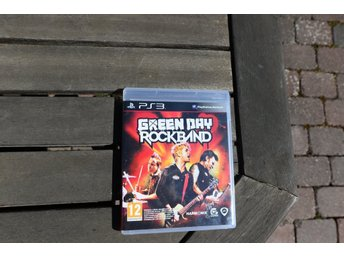 Playstation 3 spel PS3 ROCKBAND Green Day Greenday
